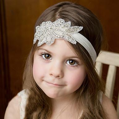 voordelige Kinderaccessoires-Meisjes Organisch Katoen Haaraccessoires Beige / Haarbanden