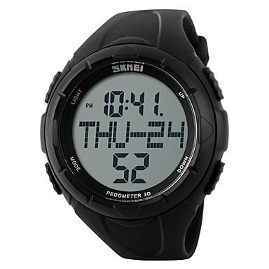 c2a2d418894 SKMEI Homens Relógio Esportivo Relógio de Pulso Relogio digital Digital Borracha  Preta   Verde 30 m Impermeável Alarme Calendário Digital Amuleto - Preto ...