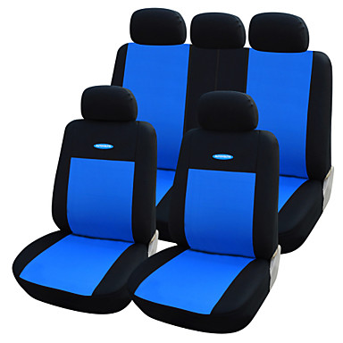 levne Doplňky do interiéru-Potahy na autosedačky Kryty sedadel Šedá / Červená / Modrá Textil Běžné Pro Volvo / Volkswagen / Toyota
