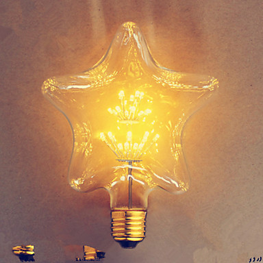 1pc e27 e26 e27 etoile blanc chaud k ampoules filament led ac 110 130v ca 100 240v ac 220 240v. Black Bedroom Furniture Sets. Home Design Ideas