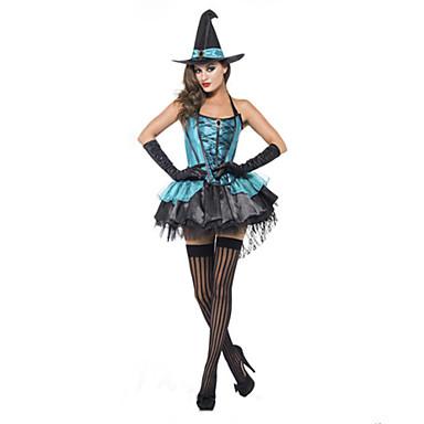 vuxen hona häxa boutique kläder / halloween dräktparti / fest / cos kläder cosplay