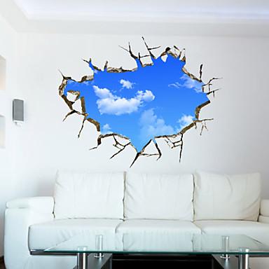 Paesaggio / 3D Adesivi murali Adesivi 3D da parete , PVC 70*90 del ...