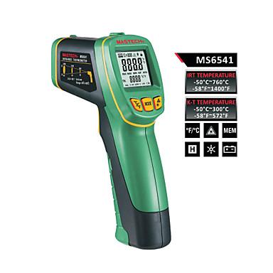 billige Test-, måle- og inspeksjonsverktøy-Mastech ms6541 samtidig visning k-type og infrarød termometer optisk oppløsning: (d: s) = 30: 1