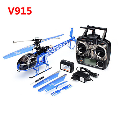 cheap RC Helicopters-RC Helicopter WLtoys V915 4ch Brush Electric NO Ready-to-go