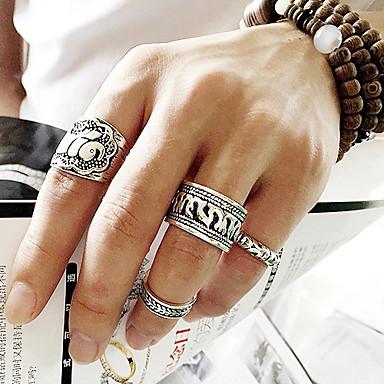 billige Motering-Dame tommelfingerring Legering Uvanlig Asiatisk Unikt design Fest Daglig Smykker Artisan Elefant Blomst Dyr