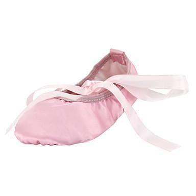 preiswerte Ballettschuhe-Tanzschuhe Seide Balletschuhe Flach, Ballerina Flacher Absatz Keine Maßfertigung möglich Kamel / Rot / Rosa / Innen / EU37