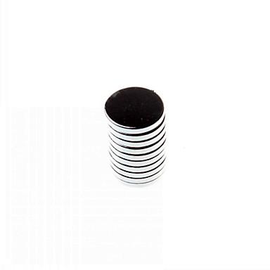 10-pack super-starka sällsynta jordartsmetaller re magneter (d12x2mm)