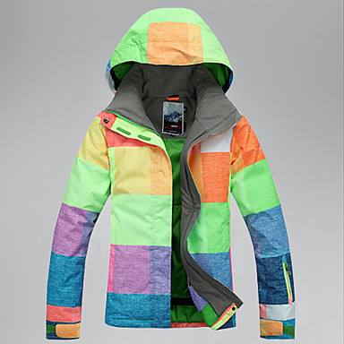 1c5a23815eca1 Damskie Kurtki narciarskie/snowboardowe Narciarstwo / Łyżwiarstwo / Sporty  zimowe / SnowboardingWodoodporny / Oddychający / Zdatny do 2303812 2019 –  $93.59
