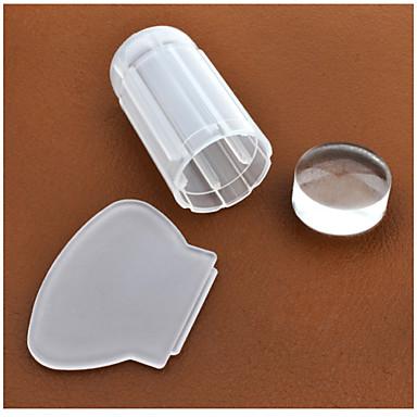 1 pcs Plast Nagelsmycken Stämpelplatta Till finger nagel konst manikyr Pedikyr Dagligen Abstrakt / Mode / stämpling Plate / Nail Smycken