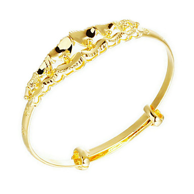 Gold Plated Bracelet Bangles Wedding   Party   Daily   Casual   Sports 1pc  4672461 2019 –  10.99 4e4f5b5f9329