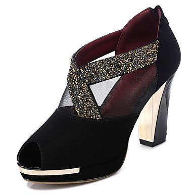 87dda133dfc Γυναικεία παπούτσια - Πέδιλα - Φόρεμα / Καθημερινά / Πάρτι & Βραδινή Έξοδος  - Χοντρό Τακούνι - Με Τακούνι / Peep Toe - Συνθετικό / Τούλι - 4739234 2019  – ...