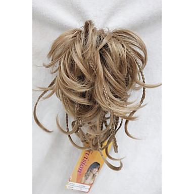 levne Culíky-Připínací Culíky a copy Umělé vlasy Hair kus Prodlužování vlasů Přírodní vlny