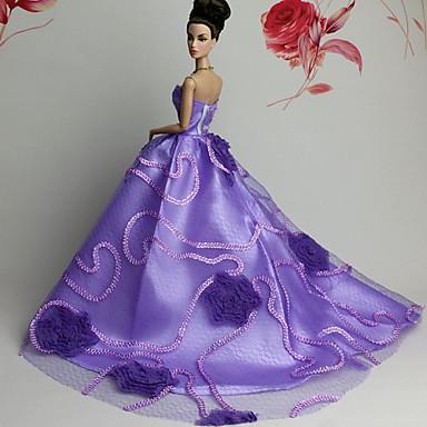 833101cfaa12 Πάρτι   Απόγευμα Φορέματα Για Barbiedoll Δαντέλα   Organza Φόρεμα Για Κορίτσια  κούκλα παιχνιδιών 4652606 2019 –  10.19