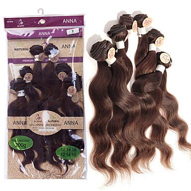 povoljno Ekstenzije od ljudske kose-Brazilska kosa Tijelo Wave 8A Ljudske kose plete Isprepliće ljudske kose Proširenja ljudske kose