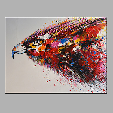Oil Painting Modern Abstract Pure Hand Draw Ready To Hang