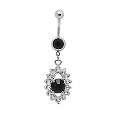 levne Dámské šperky-Dámské Tělové ozdoby Navel Ring / Belly Piercing Stříbrná dámy / Jedinečný design / Módní Nerez Kostýmní šperky Pro Vánoční dárky / Denní / Ležérní Letní
