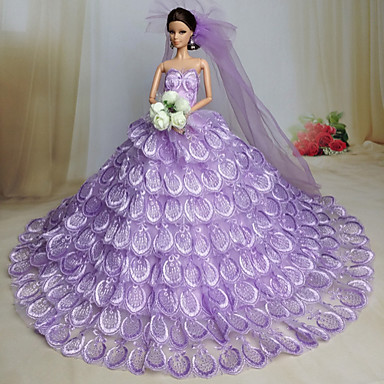 Wedding Dresses For Barbie Doll Girls Toy 4748554 2017 1599