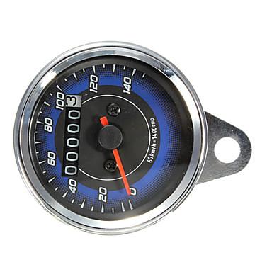motorcykel ledde vägmätare& varvräknare mätare gauge 0-140km / tim