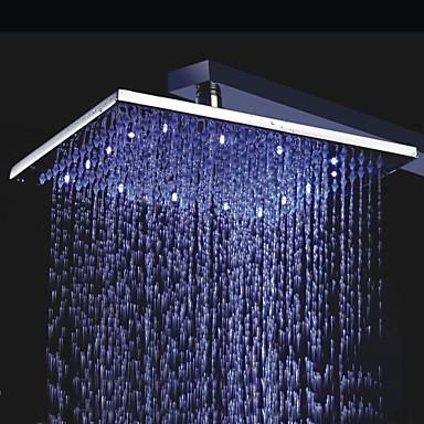 Suvremena Tuš s kišnim mlazom Chrome svojstvo - Tuš s kišnim mlazom LED, Tuš Head