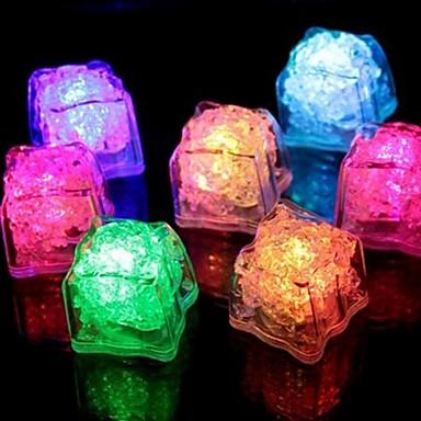 1st Plast Bar- och vinverktyg LED-belysning Blinkande LED-ljus Is Vin Tillbehör för Barware