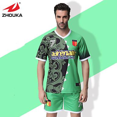2fbf42d80e0 ZHOUKA® Customized/Personalized Custom (Word + Number) Soccer Kit Football  Jersey Sportswear Team Polo Shirt + Shorts 4765571 2019 – $41.19