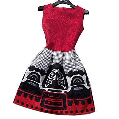 Women's Dress,Print