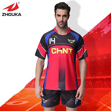 30332afc1cd ZHOUKA® Customized/Personalized Custom (Word + Number) Soccer Kit Football  Jersey Sportswear Team Polo Shirt + Shorts 4765573 2019 – $41.19