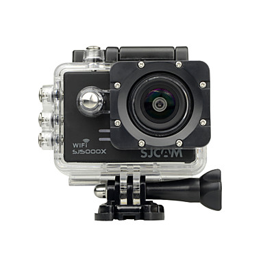 cheap Sports Action Cameras-SJCAM SJ5000X Sports Action Camera Gopro Gopro & Accessories Outdoor Recreation vlogging Waterproof / WiFi / Anti-Shock 128 GB 60fps / 120fps / 30fps 12 mp 8x 4000 x 3000 Pixel Surfing / Road Cycling