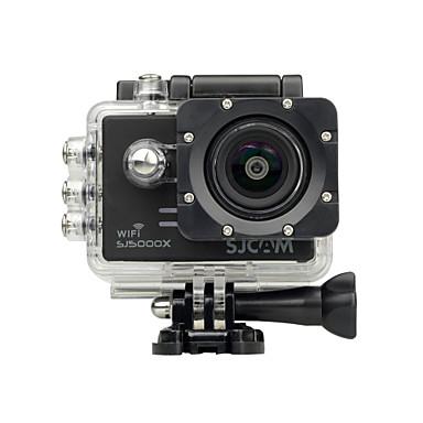 povoljno Sportski aparati i oprema za GoPro-SJCAM SJ5000X Akcija kamere / Sports Camera GoPro Rekreacija na otvorenom Vlogging Vodootporno / Wifi / Anti-Shock 128 GB 60fps / 120fps / 30fps 12 mp 8X 4000 x 3000 Pixel Surfanje / biciklom na
