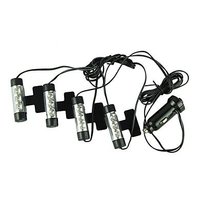 ZIQIAO Bilar Glödlampor 5W Integrerad LED 300lm 12 LED innerbelysningen