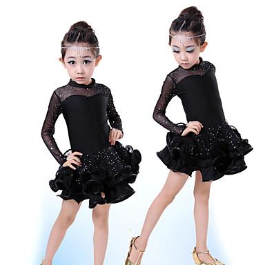 Λατινικοί Χοροί - Φορέματα - Παιδικά ( Μαύρο   Φούξια   Κόκκινο   Κίτρινο  94d5fef782f