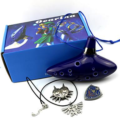 Mer accessoarer Inspirerad av The Legend of Zelda Cosplay Animé / Videospel Cosplay-tillbehör Mer accessoarer Herr / Dam Halloweenkostymer