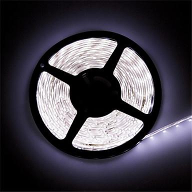 zdm 1 st vattentät ip 65 5m16,4 fot 600 leds 8mm varmvit 3000-35000k 2835 led ljusremsa, 85 lumen per fot. 12v DC bandlampa