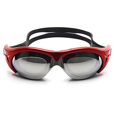 Simglasögon Vattentät Anti-Dimma Justerbar storlek Anti-UV Polariserade Lins Recept Kiselgel PC Röd Rosa Blå Grå