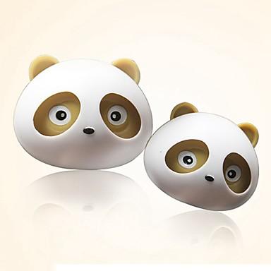 billige Interiørtilbehør til bilen-ziqiao 1 par nydelige panda smaken bil luftrenser diffuser utløp magiske forsyninger parfyme
