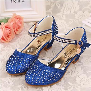 Azul Verano para Chica Tacones Sintético Rosa Cuero 2018 Zapatos 4863005 SXt0tqC