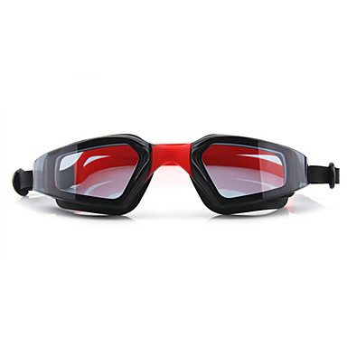 Simglasögon Vattentät Anti-Dimma Justerbar storlek Anti-UV Recept Spegel Kiselgel PC Vit Grå Svart Röd Rosa Svart