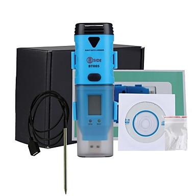 bside bth05 vattentät tre kanal luftfuktighet temperatur daggpunkt datalogger med USB-gränssnitt och LCD-display