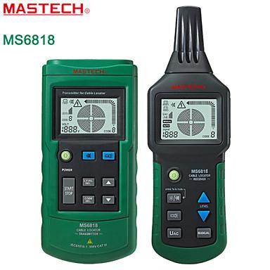 Mastech ms6818 adwanced tråd tracker vägg nedgrävda kabeln linjedetektor tracker