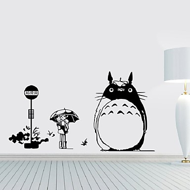 Wall Decal Japanese Cartoon Movie My Neighbor Totoro Wall Stickers Home  Decoration Wall Decor Kids Room Nursery Decals 4824317 2018 U2013 $4.99