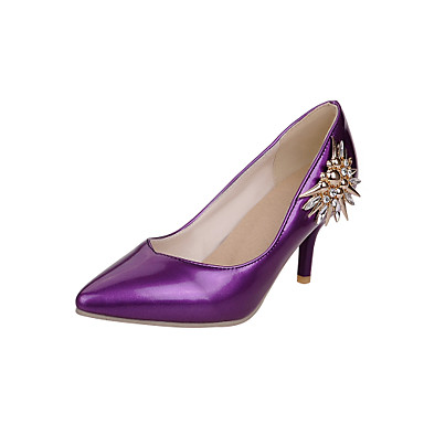 5365914ce87e Women s Shoes Patent Leather Stiletto Heel Heels   Comfort   Pointed Toe  Heels Office   Casual Black   Purple   Red 4823759 2019 –  29.99