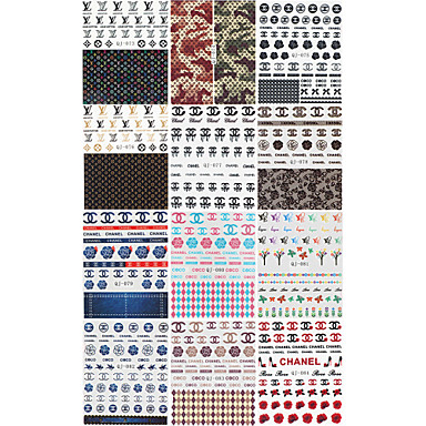 4 Sheets Watermark Transfers 3D Nail Stickers Decals Foil Nail Art  Decorations Tools Accessories 4876244 2017    1 88. 4 Sheets Watermark Transfers 3D Nail Stickers Decals Foil Nail Art