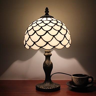 Flerfärgad skärm Tiffany / Rustik / Stuga / Modernt Modernt Bordslampa / Skrivbordslampa Harts vägg~~POS=TRUNC 110-120V / 220-240V 25W