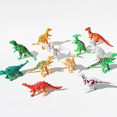 Dinosaurie Actionfigurer Originella Tecknat pvc Flickor Pojkar Present 12pcs