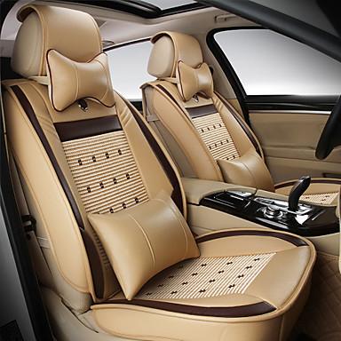 levne Doplňky do interiéru-er covers er autosedačky, koženkové potahy vodotěsné prodyšné 5 míst plná sada přední zadní kryt - vhodný pro většinu aut, suv, nebo van
