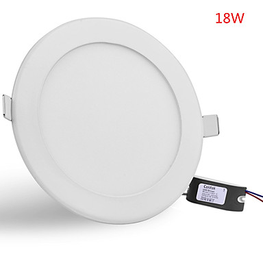 Jiawen led panel lampa downlight 18w ultra-tunn panel ledad aluminium ytmonterad tak ner lampa ac85-265v