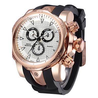 Pánské Dámské Unisex Sportovní hodinky Křemenný Voděodolné Sportovní hodinky  Silikon Kapela Luxusní ČernáBílá Černá Stříbrná Zlatá Růžové 4823063 2019 –  ... c68f80af27