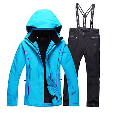 Women Ski Suit Waterproof Snowboard Jacket Women Winter Skiing Jackets    Pants Outdoor Warm Snowboarding Jacket B3612-2 4820498 2019 –  129.99 246ae25ba