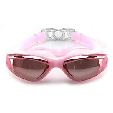 Simglasögon Vattentät Anti-Dimma Justerbar storlek Anti-UV Polariserade Lins Recept Kiselgel PC Vit Grå Svart Rosa Svart Blå