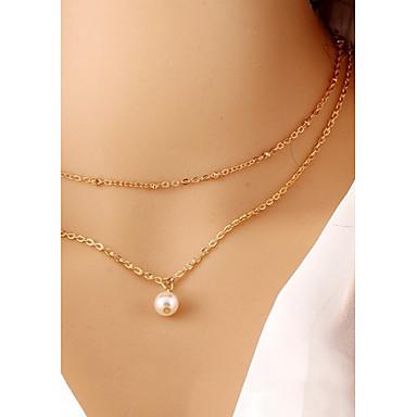 levne Dámské šperky-Dámské Obojkové náhrdelníky Gothic šperky tetování obojek dámy Tetování Módní Slitina Černá Náhrdelníky Šperky Pro Párty Denní Ležérní Sport